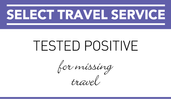 Select Travel - Tested Positive For Missing Travel