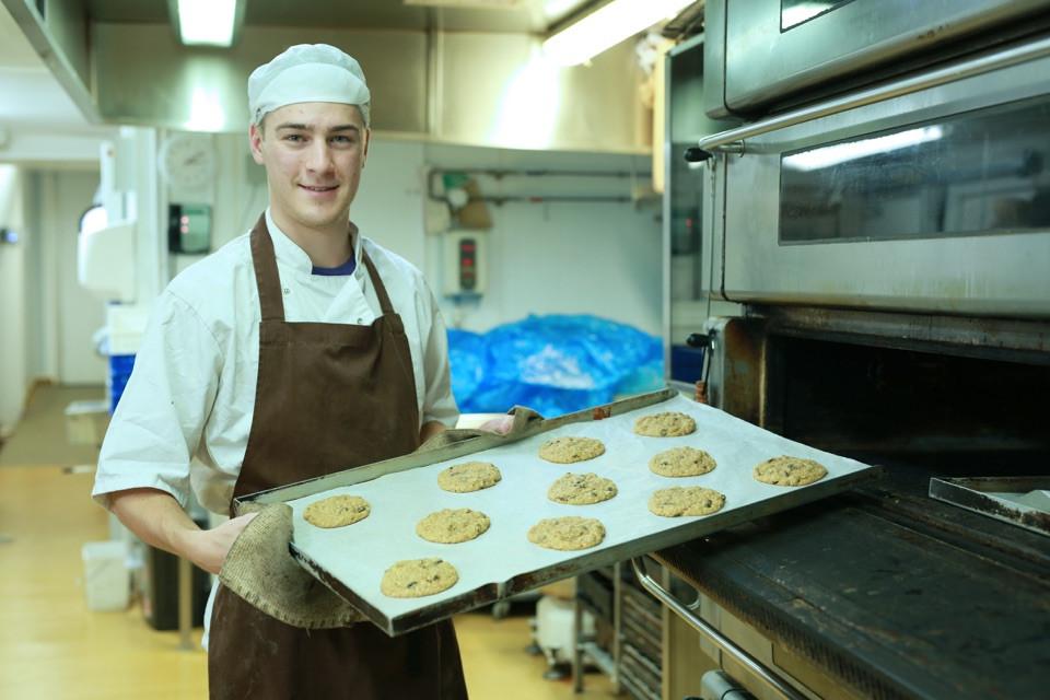 Blacker Hall Farm Shop Bakery Production