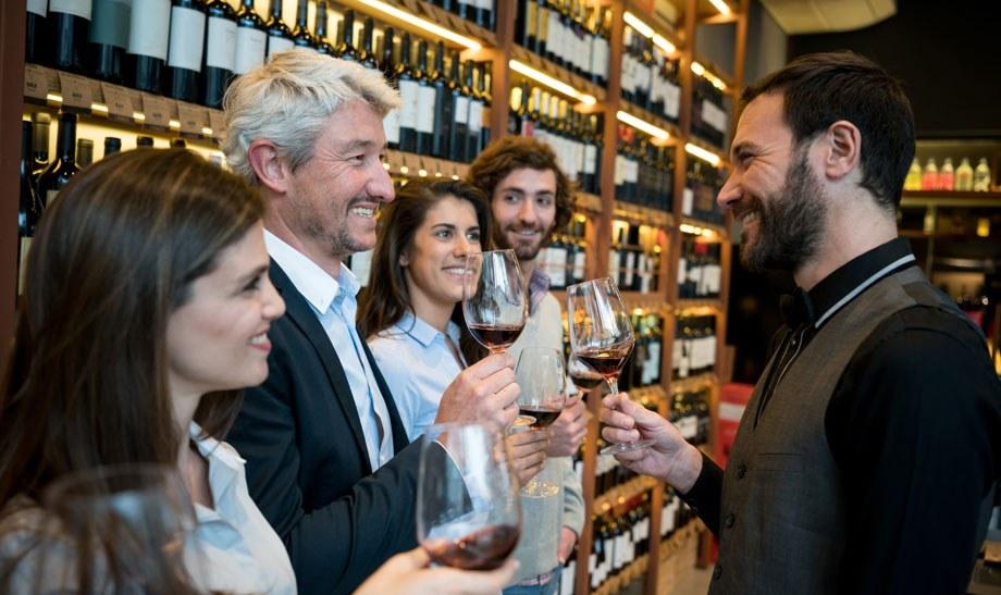 EPOS System Wine Shop Customer Tasting