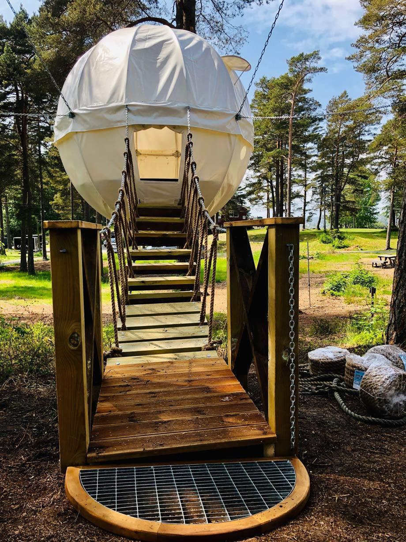 Farm diversification blog camping