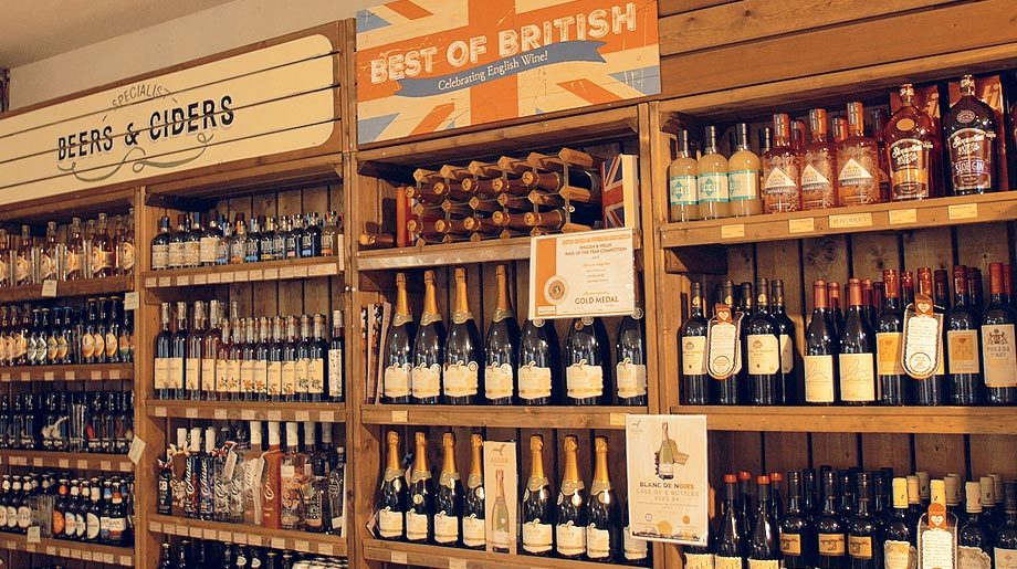 Farm Shop English Wine