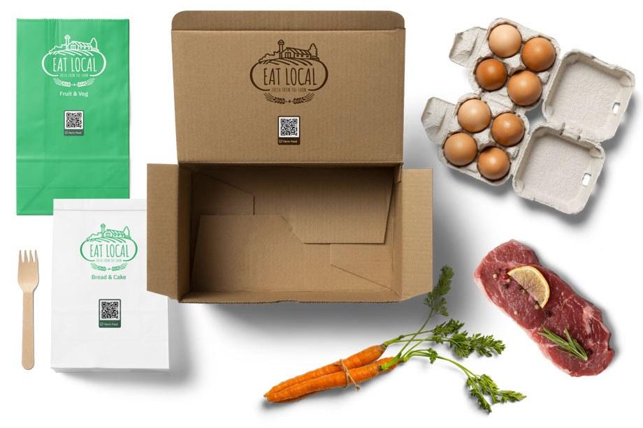 Eat Local Food Packaging