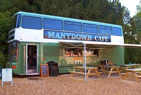 Manydown Farm Shop Cafe Bus
