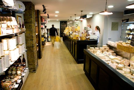 Paxton And Whitfield  Jermyn Street London EPOS System Cheesemonger