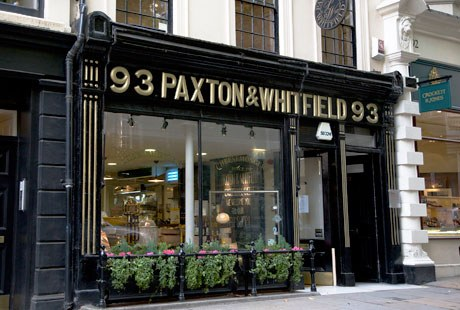 Paxton And Whitfield Jermyn Street London EPOS Cheesemonger Solution