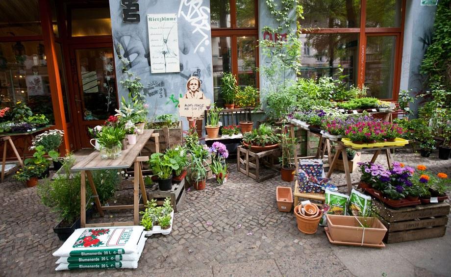 Florist Shop Display Outside