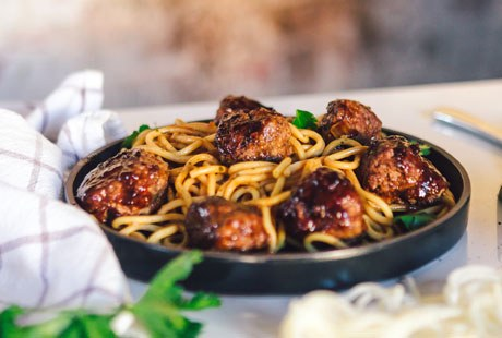 Charitable Work Support Meatball Month