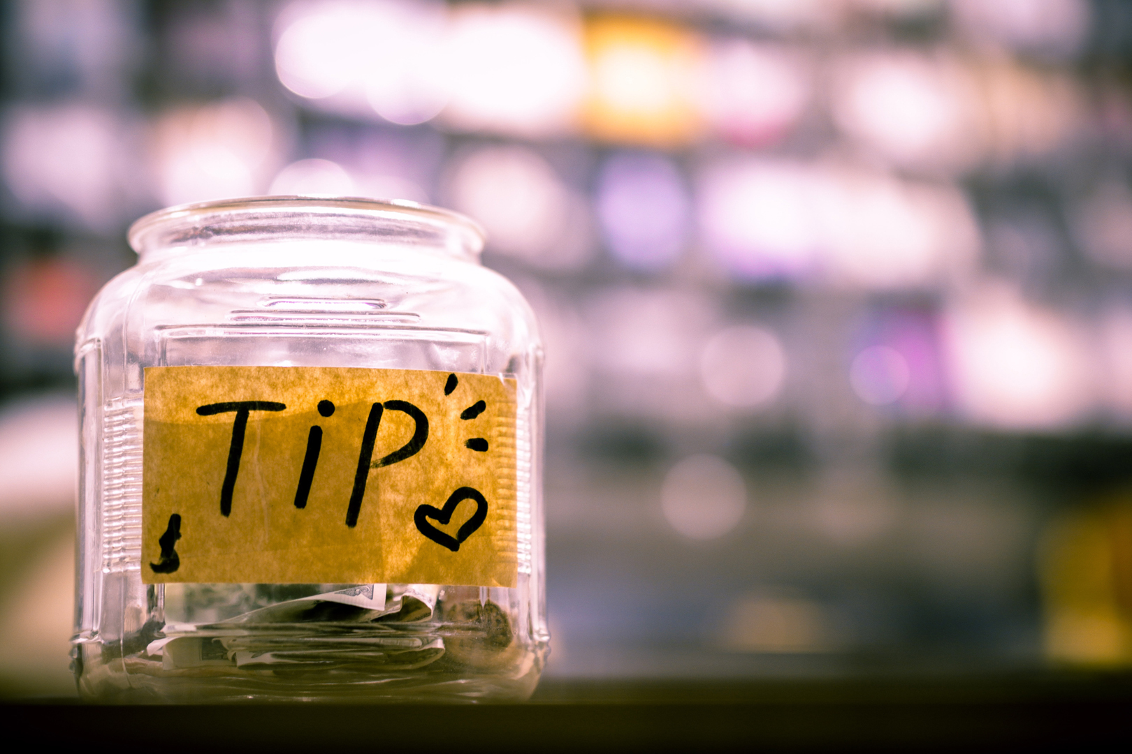 Tip Box Gratuities