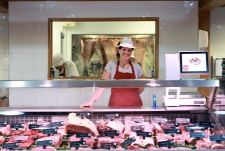 Welbeck Butchery Counter Bizerba Scales UK