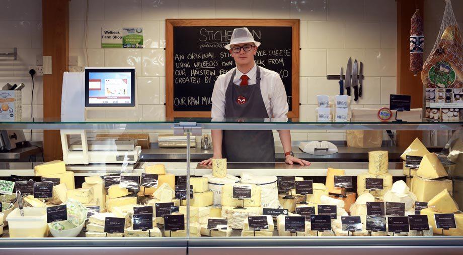 Welbeck Farm Shop Cheese Counter EPOS System