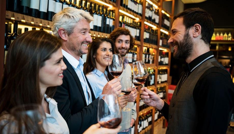 Wine Tasting EPOS System Shop